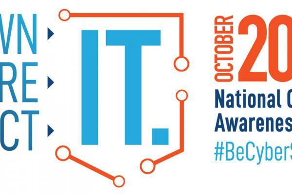 October 2019 National Cybersecurity Awareness Month Logo