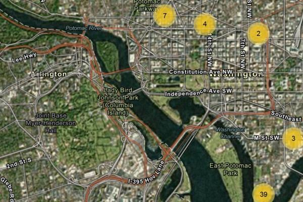 Training catelog map
