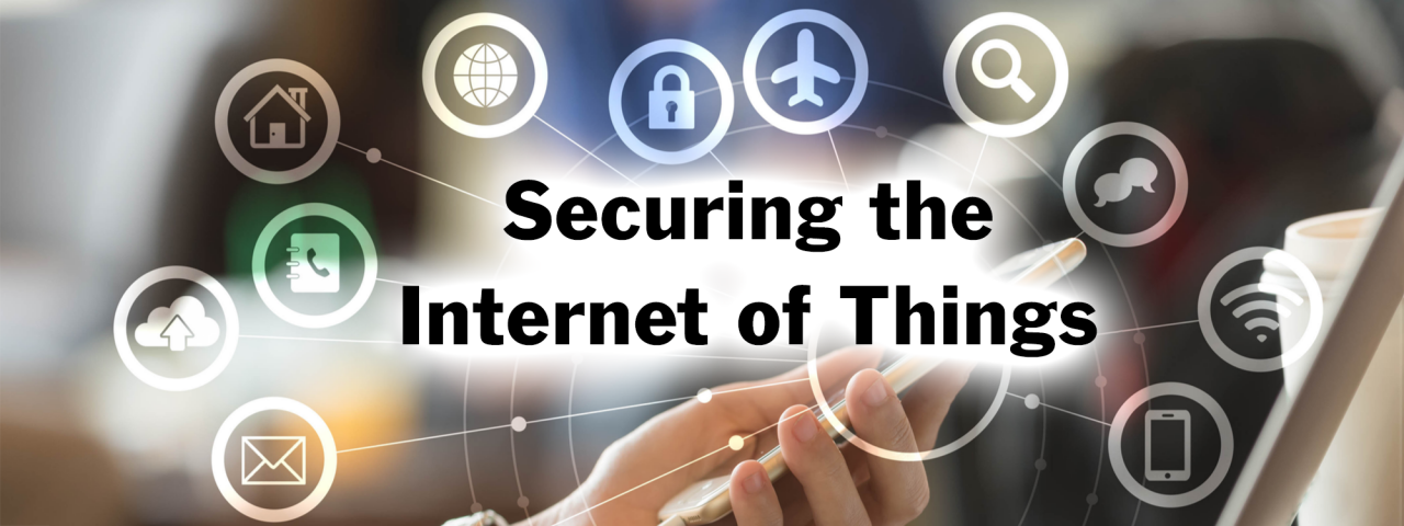 "Check out the ""Securing the Internet of Things"" Feature Story Article"